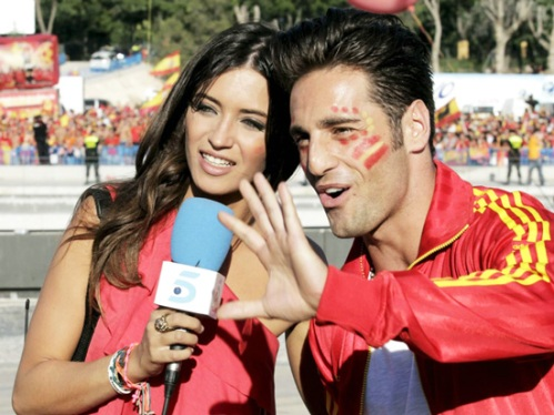 David Bustamante y Sara Carbonero.
