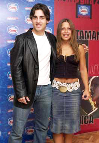 David Bustamante y Veronica.
